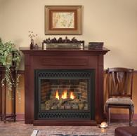A variety of gas fire places available